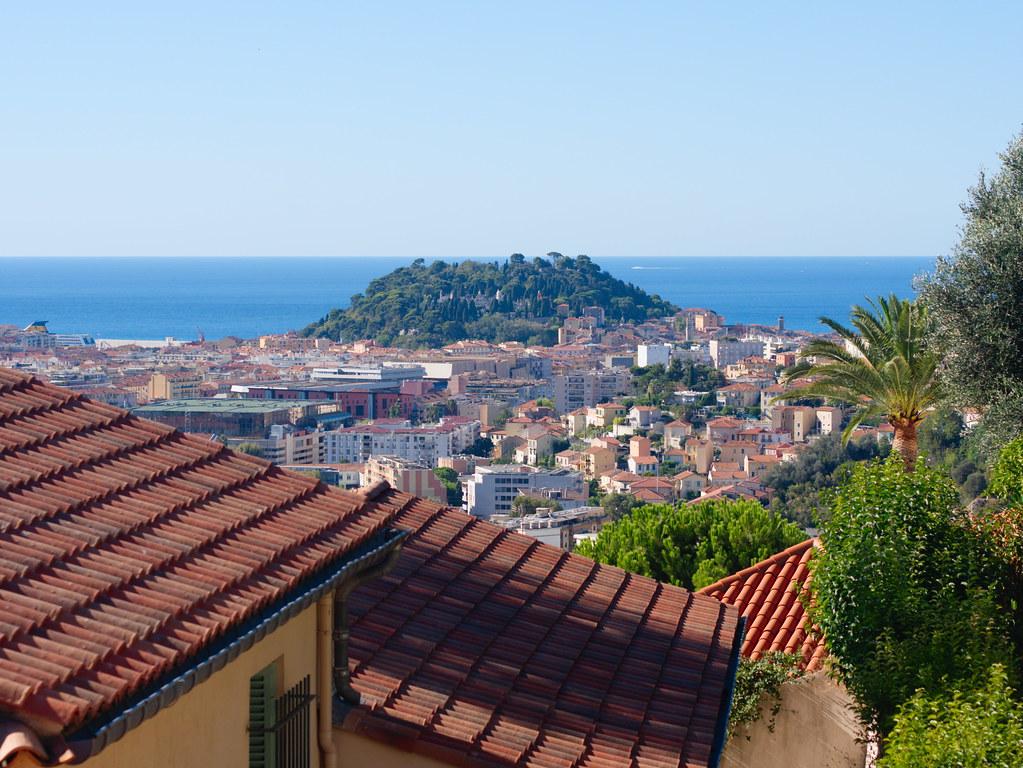 related image - La colline du chateau de Nice depuis les hauteurs de Cimiez - 2016-08-23- P1540461