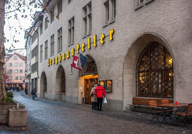 Zeughauskeller in Zürich