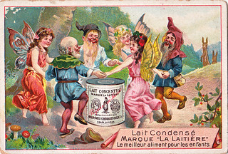 chromo anglo swiss condensed milk co - cham - fairies and