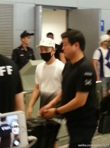 Big Bang - Shanghai Airport - 19jun2015 - lajiao1127 - 01