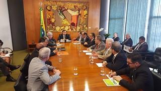 Centrais se reúnem com Rodrigo Maia