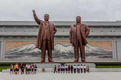 Kim Il-sung / Kim Jong-il -- Mansudae, DPRK