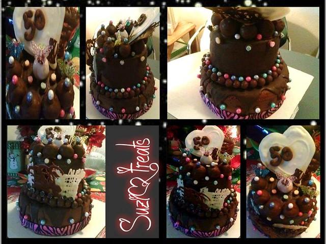Chocolate, Chocolate, and More Chocolate by Suzi Gonzalez of SuziQ Treats