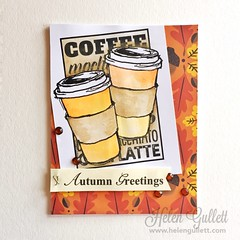 Fall Coffee Lovers Blog Hop - STAMPlorations