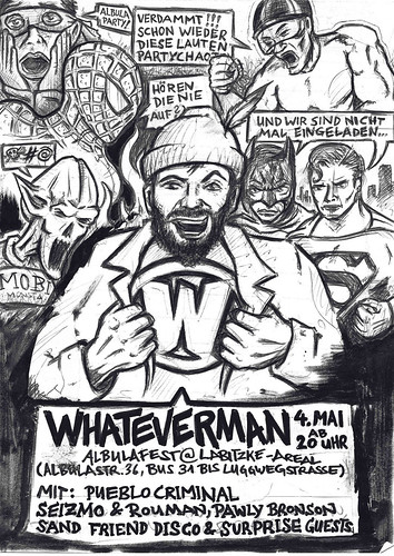 Whateverman Albulafest - Flyer - 04.05.2012 - PUEBLO CRIMINAL