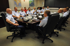 Meeting at U.S. Pacific Command