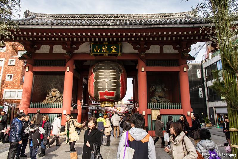 viajar a tokio el templo sensoji de asakusa japonismo