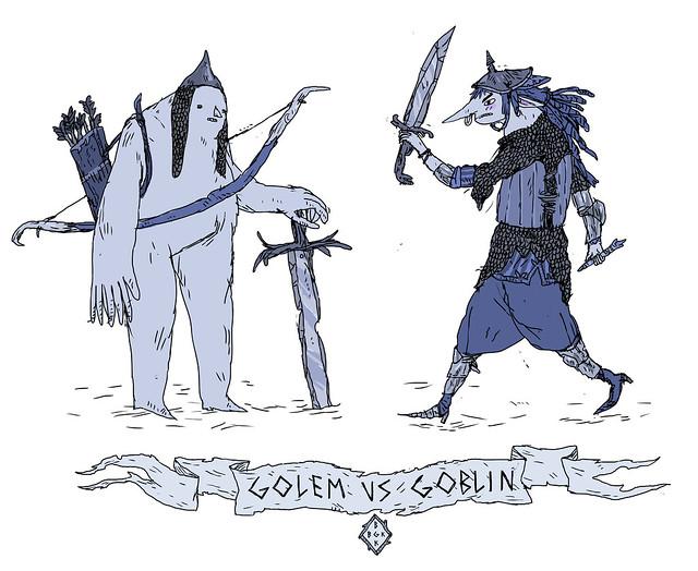 Golem VS Goblin