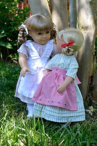 Kirsten and Brigitte