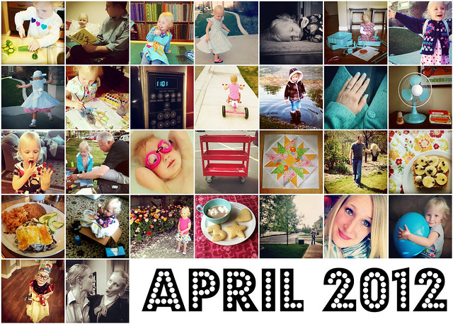 April Instagram Mosaic