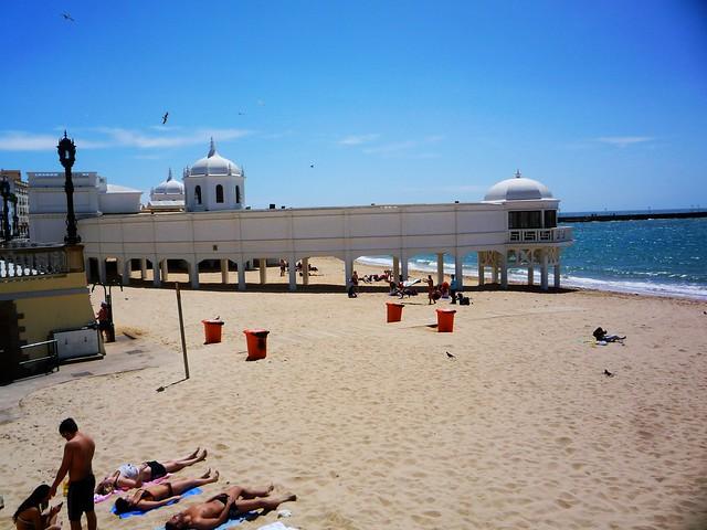 Strand Cadiz englische Anlage