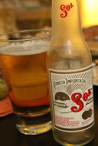 Sol Beer From Cervecería Cuauhtémoc Moctezuma
