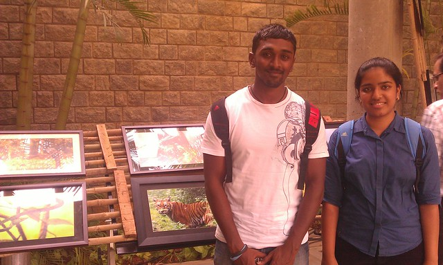 A passionate Vet - Karthik & his Classmate