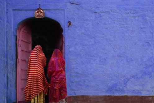 Jeffrey Becom, Pink Door, Jaisalmer, Rajasthan, India, 2008