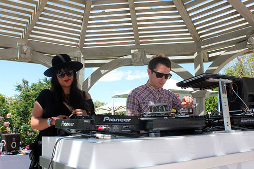Lacoste Live 2012 Coachella Party: Elijah Wood DJing