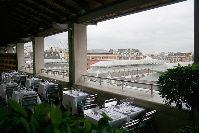 The Terrace Restaurant at the Royal Opera House © ROH 2010