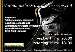 affiche koor en orkest 2012