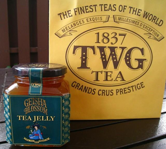 TWG's Geisha Blossom Tea Jelly