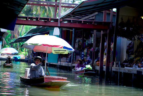 Floating market at Thailand#2 by Kazi Sudipto