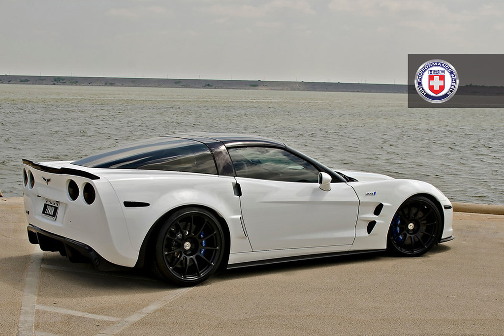 White Corvette Zr1 On Hre P43s Corvetteforum Chevrolet