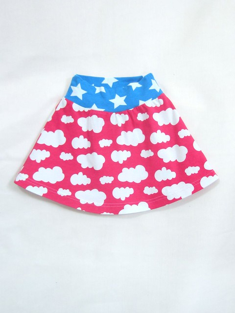 fuchsia cloud skirt bc
