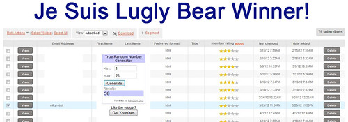 Bear Winner by Je Suis Lugly!