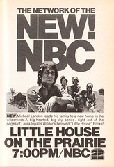 TV Guide ad for the premier of Little House on the Prairie (1974)