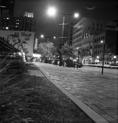 Downtown Akron at Night