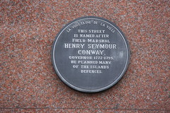 Photo of Henry Seymour Conway grey plaque