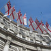 Small photo of Flags on Admiralty Arch