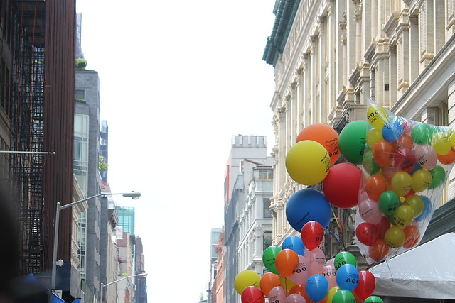 Adorama Street Fair: Balloons, W. 18th
