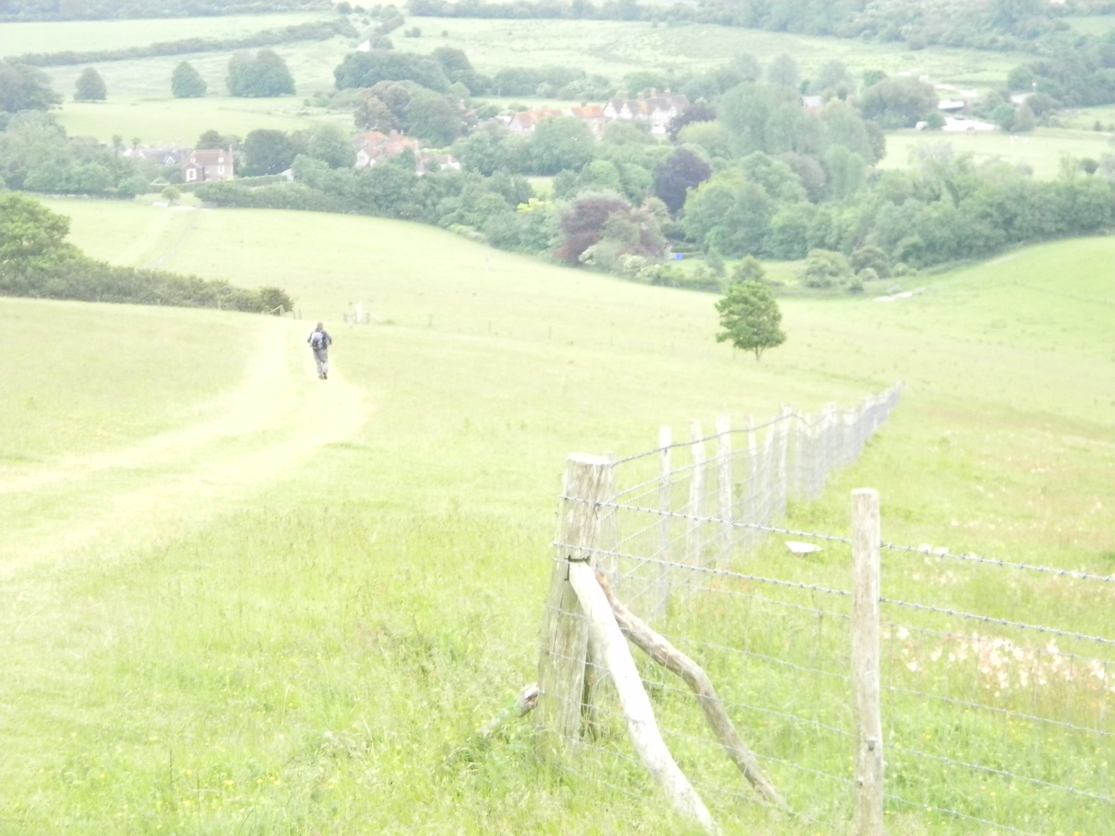 Descent to Glynde Lewes to Berwick