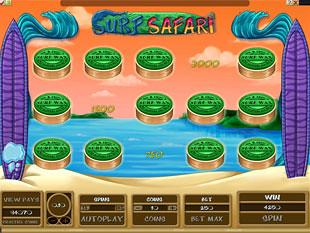Surf Safari Bonus Game