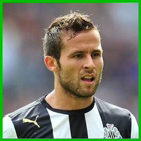 Pictures of Yohan Cabaye