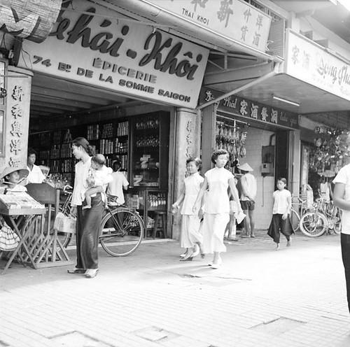 Saïgon 1950 - Bd de la Somme - ĐL Hàm Nghi