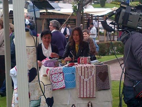 cristina e Sónia na RTP1 by ♥Linhas Arrojadas Atelier de costura♥Sonyaxana