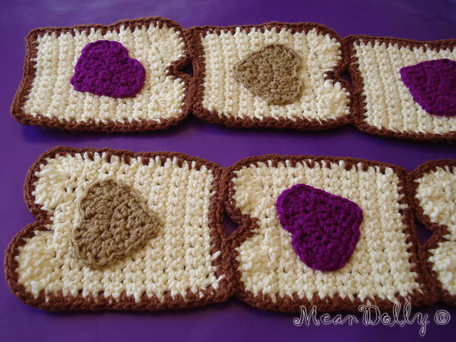 Peanut butter and jelly (Hearts) | Flickr - Photo Sharing!