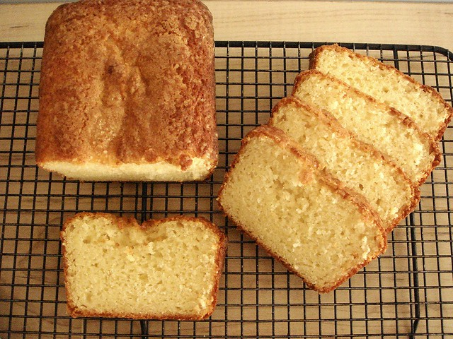 French Lemon Yogurt Bread