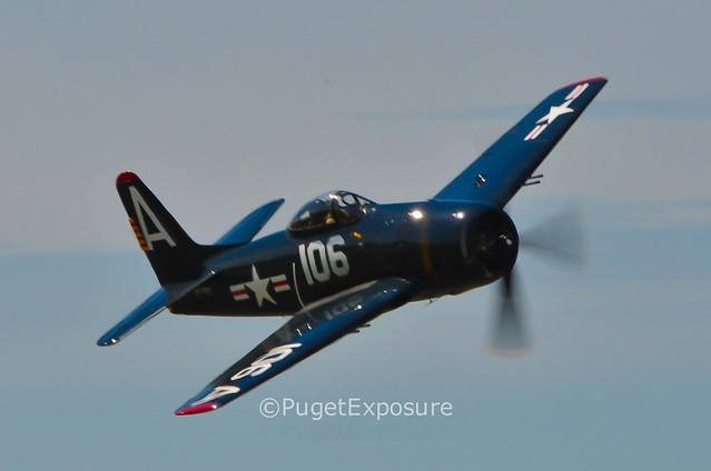 Down the Centerline Series: High Speed Pass Grumman F8F Bearcat