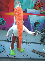 "DARK HORSE COMICS::   ""Flaming Carrot"" Action Figure xiv (( 1999 ))"
