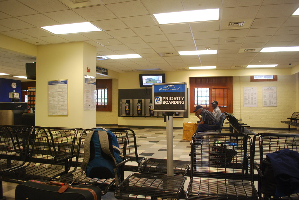 Greyhound station Jackson, MS