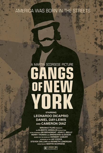 gangs of new york movie poster flickr photo sharing. Black Bedroom Furniture Sets. Home Design Ideas