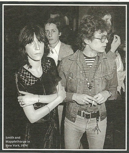 1974 New York City: Patti Smith and Robert Mapplethorpe (Rolling Stone Magazine - Issue N/A)