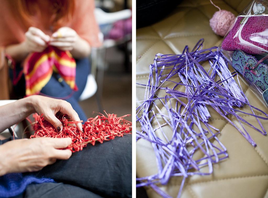 knitting crocheting niti niti