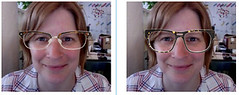 Trying on glasses virtually
