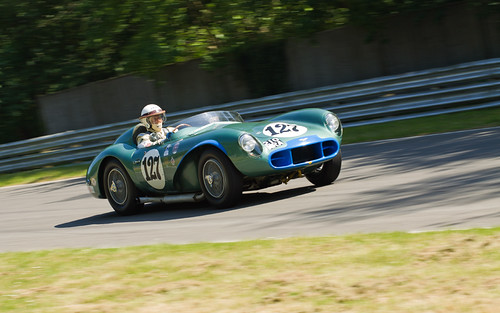 Woodcote Trophy Aston Martin DB3S (David Bennett)