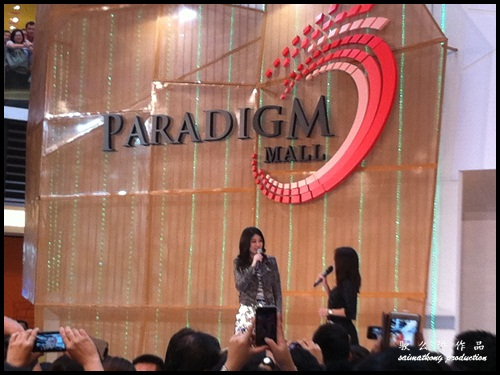 Kelly Chen vs Wan Wai Fun @ Paradigm Mall in Kelana Jaya, PJ