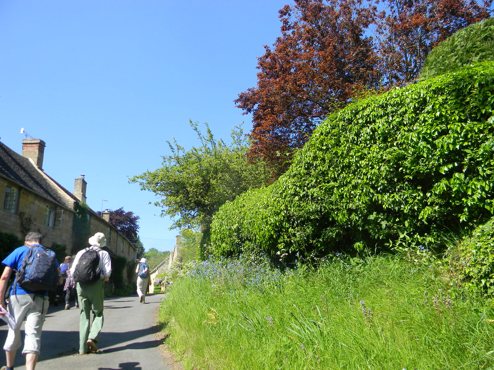 Diverting to Chipping Camden Going through Broad Camden Moreton-in-Marsh Circular