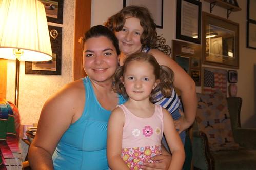 Abby, Lauren and Clara