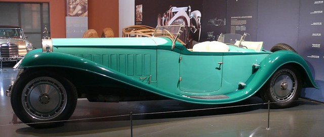 Bugatti Royale Roadster Armand Esders 1930 - 1990 green l